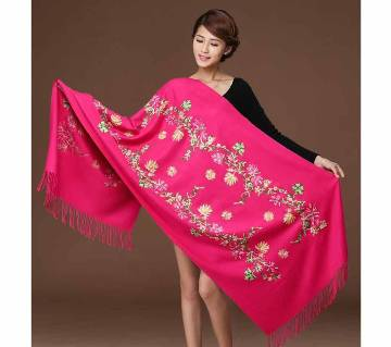 pink original Acrylic china shawl for women