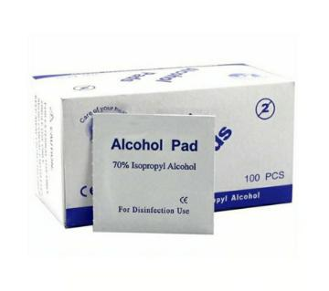 Disinfectant 70% Isopropyl alcohol Pad 100 pcs