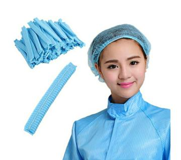 Dispossible tissue cap blue