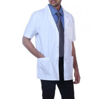 medical apron white for men