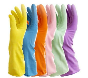 Extended Waterproof Washing Cleaning Long Gloves Household Kitchen