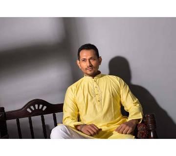 Muslim Cotton Karchupi Panjabi