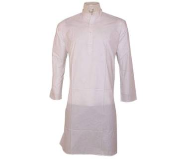 gents semi long cotton punjabi