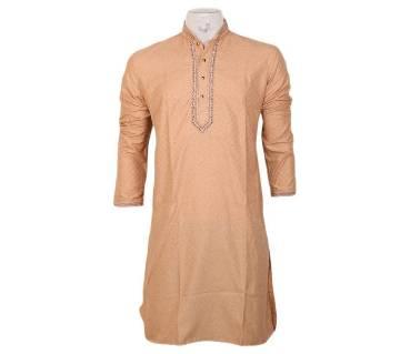 gents semi long cotton punjabi