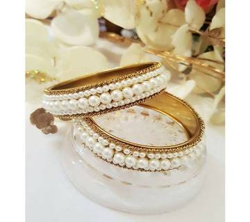 Antique Perl Golden Color Bangles