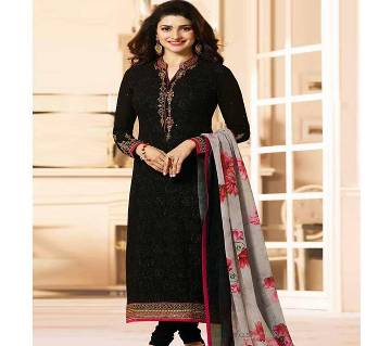 Indian Semi-Stitched Embroidery Georgette Kameez