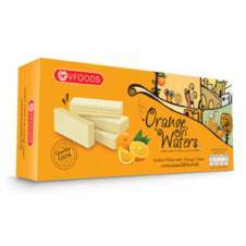 V Food Orange Flavor Wafer Box 100g Thailand