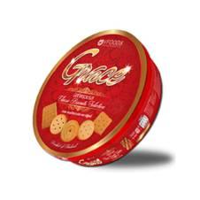 V Food Grace Round Tin Biscuit 400g Thailand