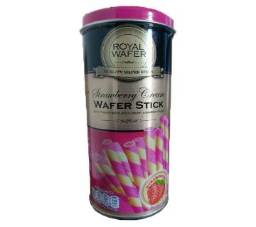 V Food Royal Wafer stick Strawberry Cream   125g Thailand