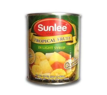 Sunlee Canned Tropical Fruit Cocktail 565 gm Thailand