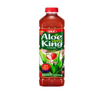 Aloe vera জুস Strawberry  Flavor 1.5ltr Korea