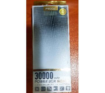 Remax proda 30000mAh LCD ডিসপ্লে পাওয়ার ব্যাংক