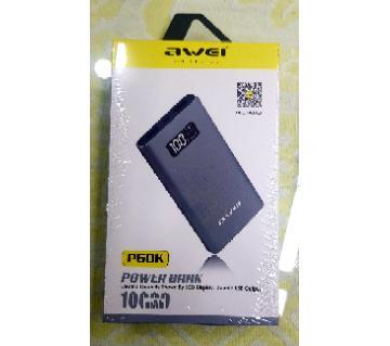 Awei Power Bank 10000mAh P60K