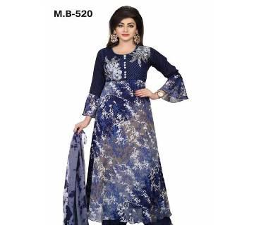 Readymade Embroidery Georgette Salwar Kameez