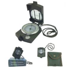 Prismatic Lensatic Compass with Strap -1pc