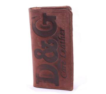 Artificial Leather Long Shaped Wallet