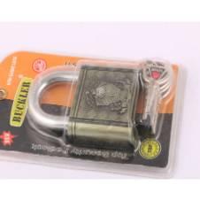 Buckler Top Security Pad lock with 4 Key