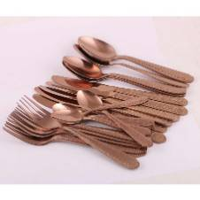 Unique Spoon set 24pc with stand
