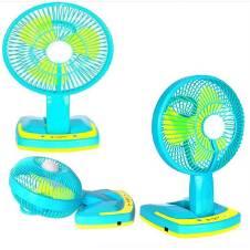 2 in 1 Rechargeable Mini Fan Plus Led Light