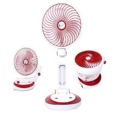 supermoon rechargeable folding table-fan-with-light