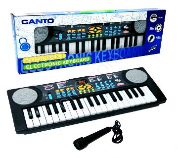 Multi functional delegated 37 keyboard piano for kids