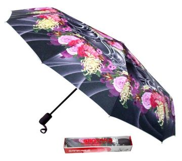 Sankar Smart  Folding Umbrella-multicolor