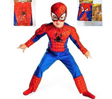 Spiderman Dress - Multi-color (AGE 5 TO 7) Size M