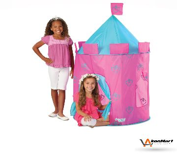Discovery Kids Indoor and Outdoor Princess Play Castle Girls Playhouse