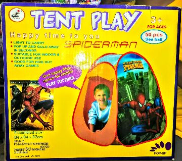 Tent play house & 50 balls happy time to play