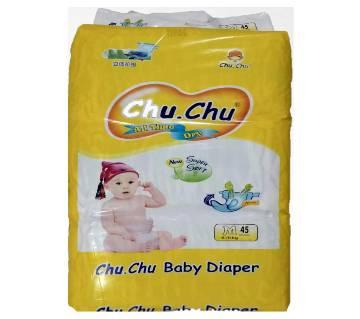 Chu Chu Baby Diaper Belt M 6-11 kg (BD) 45 pcs