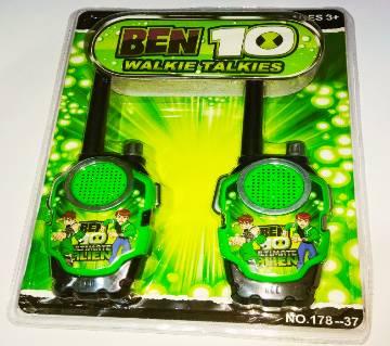Ben10 Walkie Talkie টয় ফর কিডস (Range 50 Metre)