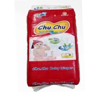 Chu.Chu Baby Diaper Large-36 Pcs