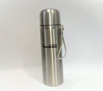 VACUUM FLASK -350ml - SILVERKeeps hot for 12 hours OR cold for 18 hours