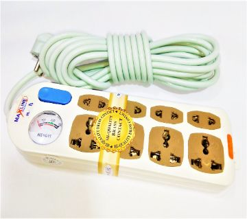 8 ports highquality multiplug (5meter cable)