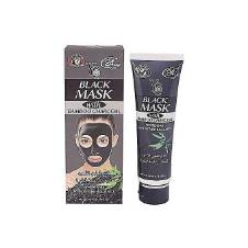 YC BLACK MASK WITH BAMBOO Charcoal - 100ml - Thailand