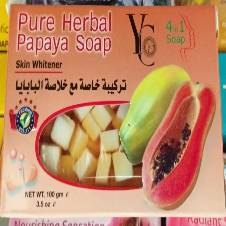 Pure Herbal Papaya Soap  - Thailand