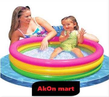 Baby bathing pool (intex glory 34