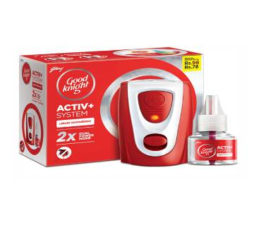 Good knight Activ+ system 45ml India