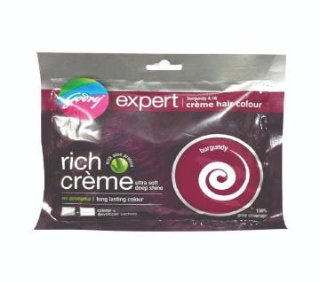 Godrej Expert Rich Creme Burgundy Hair Colour 20ml Indian