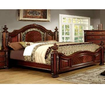 Victorian design mahogany Wooden bed