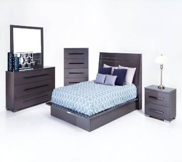 Mehgani Wooden Double Size Bed