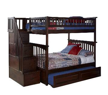 Mehgani Wooden Bed