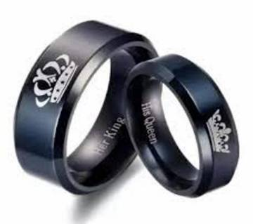 Her King and His Queen Couple Ring Set