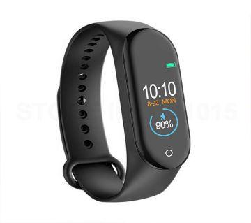Bingo M4 Sports Fitness Smart Bracelet- Black
