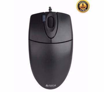 A4tech OP-620D Optical Mouse - Black