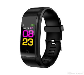 115 HR PLUS Fitness Tracker Big OLED 0.96Screen Fitness Tracker Pedometer Smart Band Heart rate monitor For Android & IOS Phone