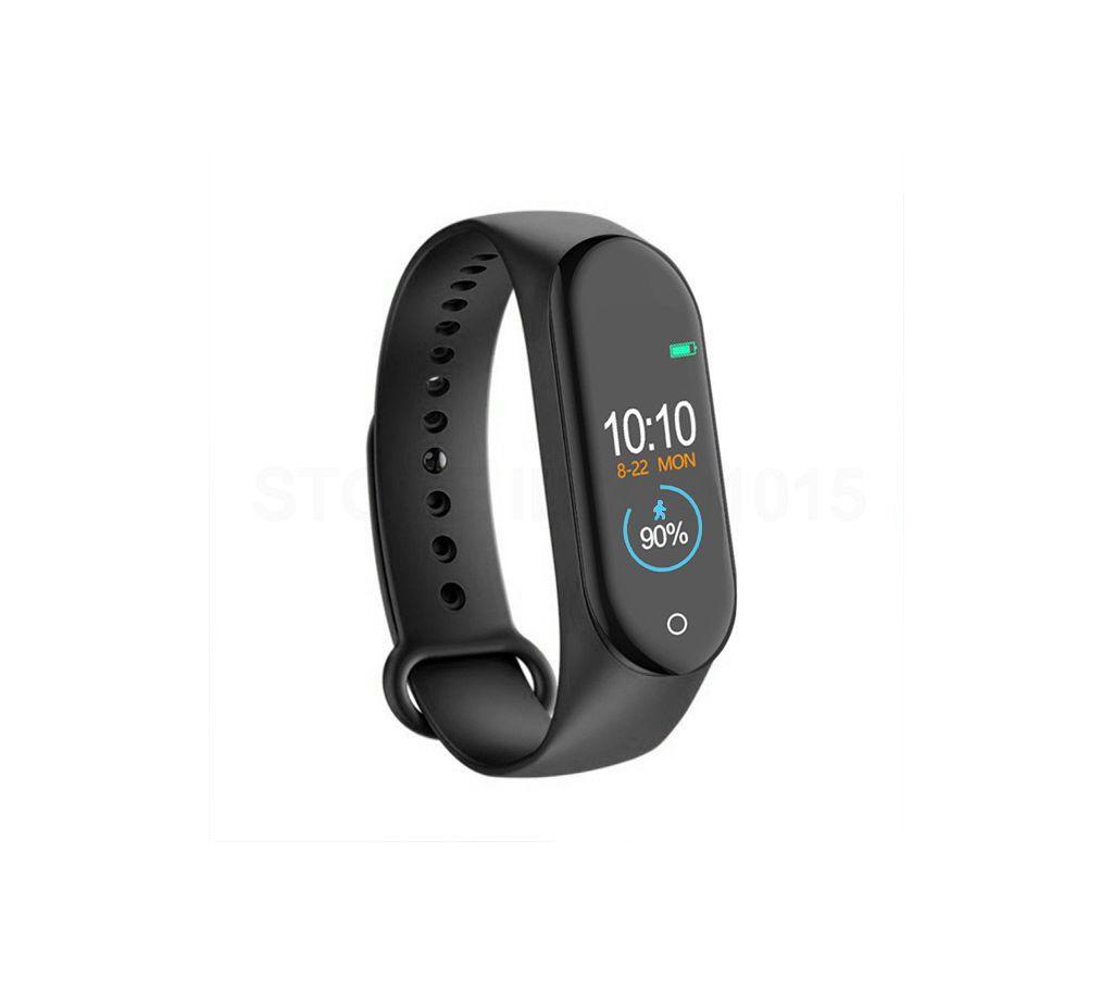 Original Bingo M4 Sports Fitness Smart Bracelet- Black বাংলাদেশ - 1005128
