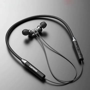 Lenovo HE05 wireless in-ear neckband earphones - Black