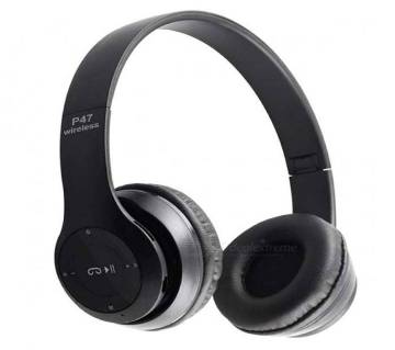 P47 - Wireless Bluetooth Headphone - Black