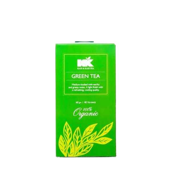Kazi & Kazi Green Tea 60 gm 40 pcs
